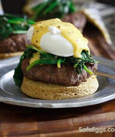 open-faced-burger-eggs-benedict