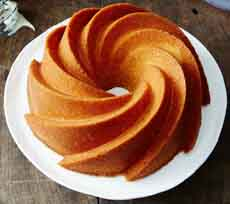Orange Bourbon Pound Cake