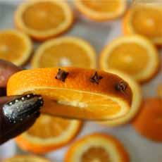 Clove Studded Orange Slice
