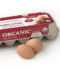 Brown Eggs Carton