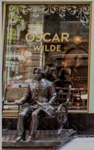Oscar Wilde Statue NYC