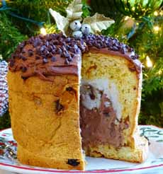 Panettone ice Cream Cake