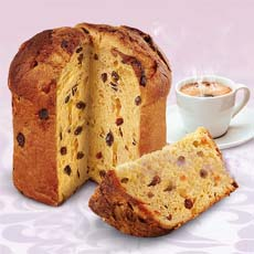 Panettone With Coffee