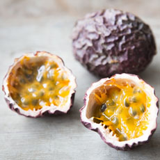 Passionfruit, Whole & Halved
