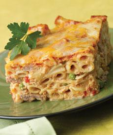 Rigatoni Lasagna