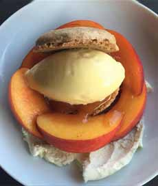 Peaches & Cream Shortcake