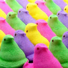 Colored Peeps