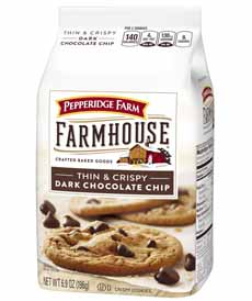 Pepperidge Farm Farmhouse Dark Chocolate Chip Cookies