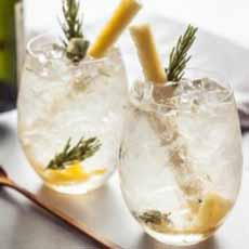 Pineapple Rosemary Cooler Recipe