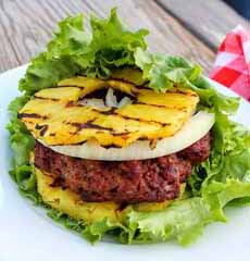 Pineapple Burger