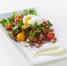 Poached Egg With Whole Grains