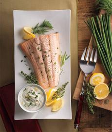 Salmon & Horseradish Sauce