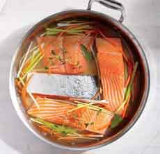 Poaching Salmon