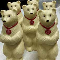 White Chocolate Polar Bears