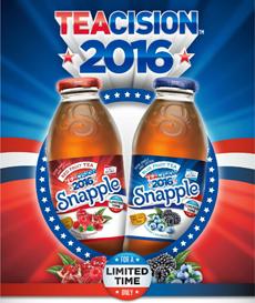 Snapple TEAcision 2016