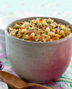 Pork Apricot Fried Rice