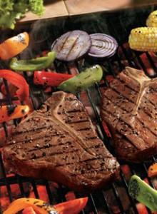 Grilled Porterhouse Steakx