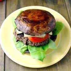 Burger On Portobello Bun