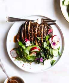 Portabella 'Steak' & Salad
