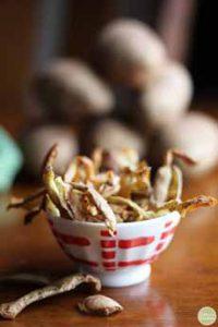 Fried Potato Peels