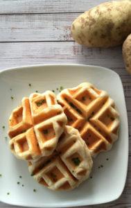 Mashed Potato Waffles Recipe