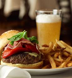 Burger & Lager Beer