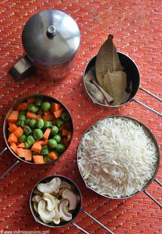 Indian Pilaf - Pulao