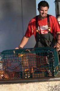 Full Lobster Trap