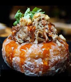 Pulled Pork Glazed Donut