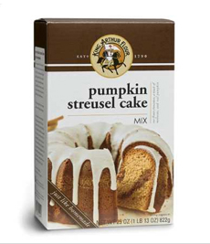 Pumpkin Streusel Cake Mix
