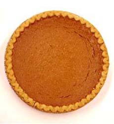 Plain Pumpkin Pie