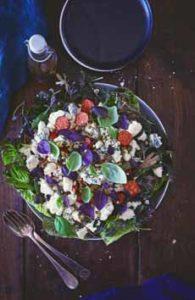 Blue Cheese & Basil Salad