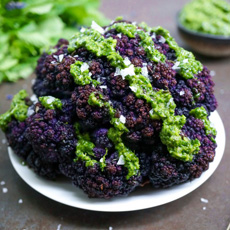 Purple Roast Cauliflower