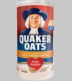 Quaker Oats Canister