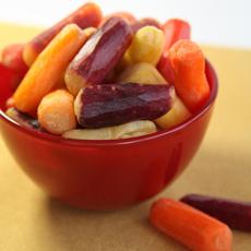Rainbow Baby Carrots