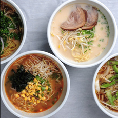 Different Ramen Soups