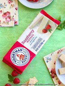 Voortman Raspberry Wafers