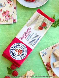 Voortman Raspberry Wafers