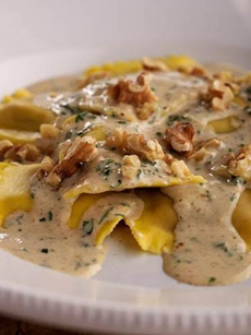 Ravioli With Hazelnut Butter