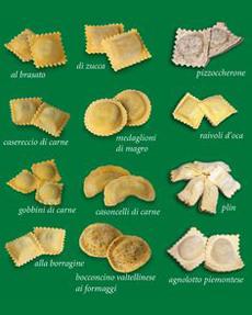 Ravioli Types Chart