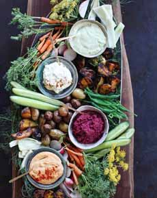 Healthy Appetizer Platter