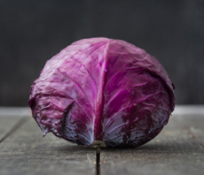 Red Cabbage Head