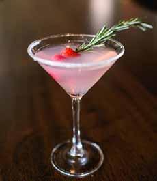 Red & Green Cocktail Garnish