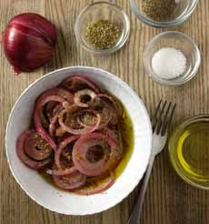 Marinated Red Onions