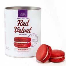 Red Velvet Macaron Kit