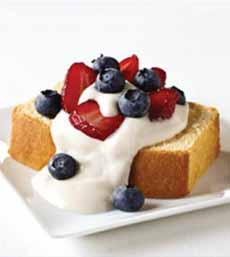 July 4th Pound Cake