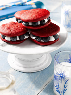 July 4th Whoopie Pies RecipeHTTP://www.blueberrycouncil.org