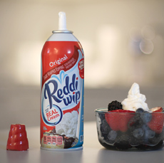 Whipped Cream & Berries