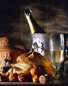 Champagne & Chicken