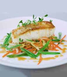 Roast Halibut